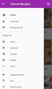 Zannet Recipes - Shopping Cart- screenshot thumbnail
