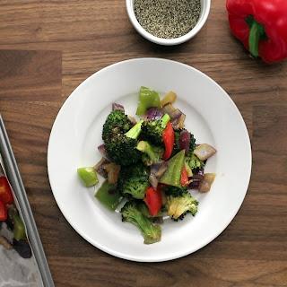 Easy Soy-Glazed Vegetables.