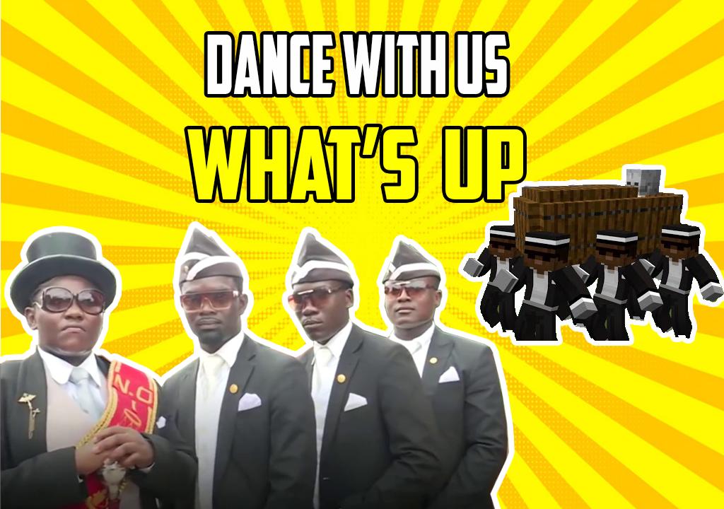ダンス コフィン Dancing Pallbearers