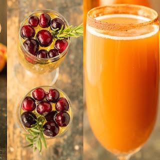 4 Ways To Make Fall Mimosas