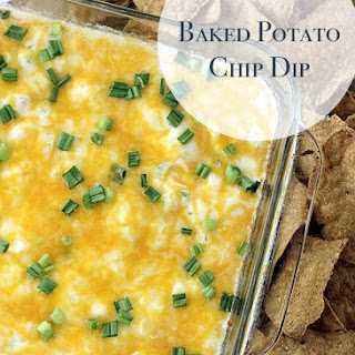 Game Day Baked Potato Chip Dip Recipe
