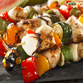 Greek Style Chicken Skewers