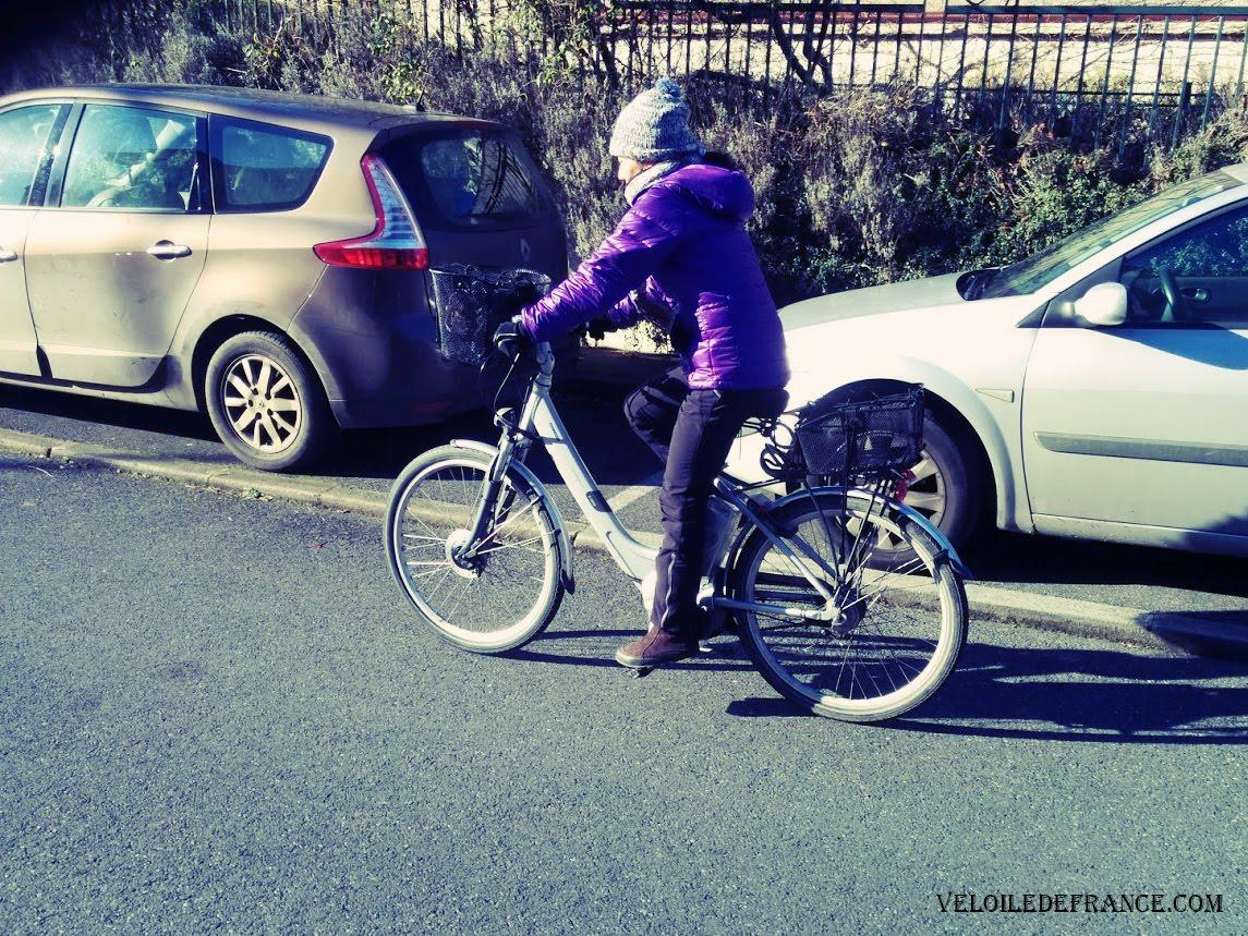Pantalon Decathlon SH900 à vélo