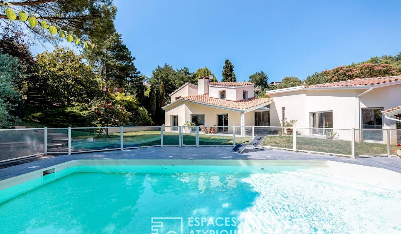 Maison avec piscine Goyrans