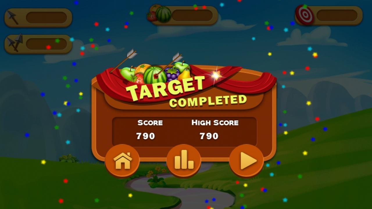 Fruit shoot game - Fruit Shoot Archery Screenshot