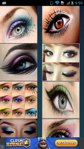 玩免費遊戲APP|下載Different Eyeshadow Designs app不用錢|硬是要APP