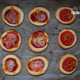 Puff Pastry Mini Pizzas, The Best Finger Food Ever!.