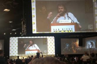 Photo: Saturday - The Hobbit panel; director Peter Jackson