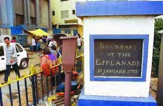 Photo: Boundry of Chennai esplanade