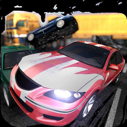 Highway Crash Derby Icon