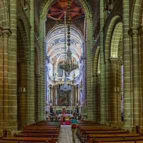 Evora Cathedral by Lee Davenport - Buildings & Architecture Places of Worship