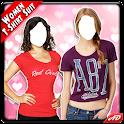 Women T Shirt Photo Suit New icon