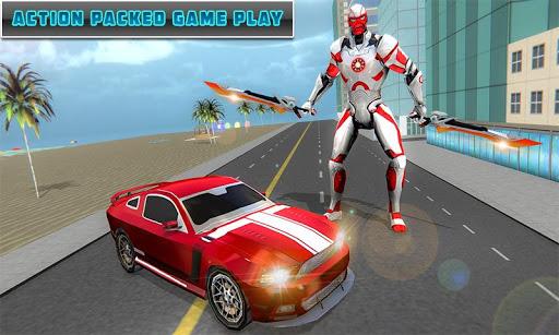 Dual Sword Hero Robot Transforming 3D screenshots 5