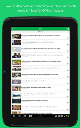 Radio Free Asia (RFA) 3.3.1 Screenshots 14