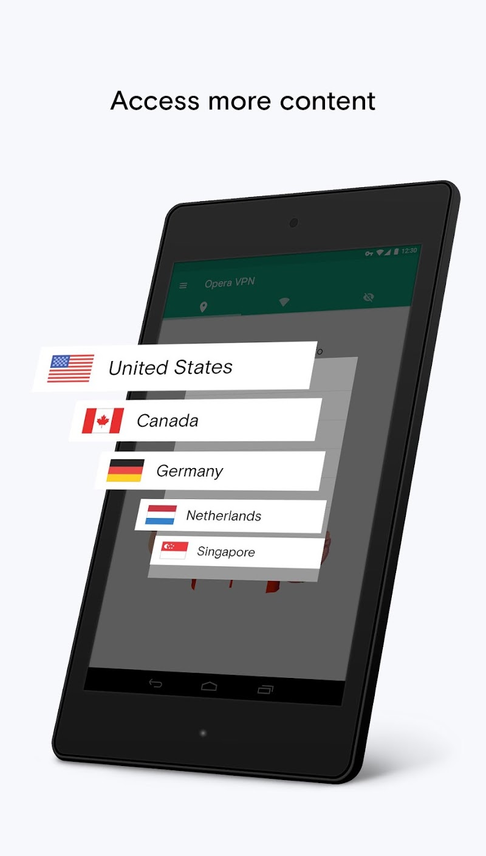 Opera Free VPN - Unlimited VPN Screenshot 6