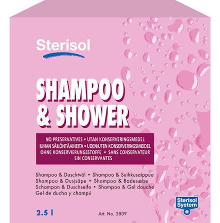 Tvål Sterisol shower 3809 2,5l