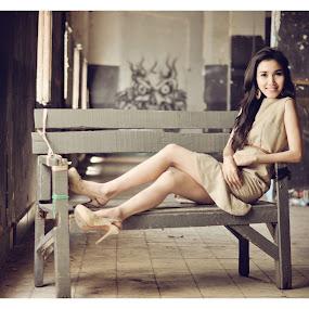 Graceful Sabrina by Arindra Arindra - People Portraits of Women