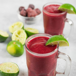Cherry Limeade Smoothie.
