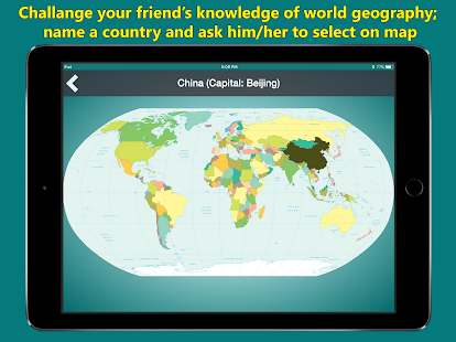 World map geography quiz android apps on google play world map geography quiz screenshot thumbnail gumiabroncs Images