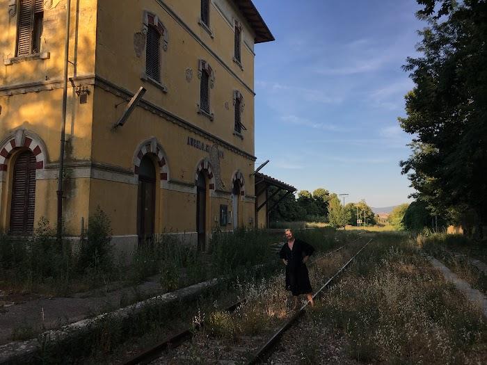 Montalcino, la stazione di Sant'Angelo-Cinigiano, Sant'Angelo Scalo