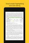 screenshot of Lithium: EPUB Reader