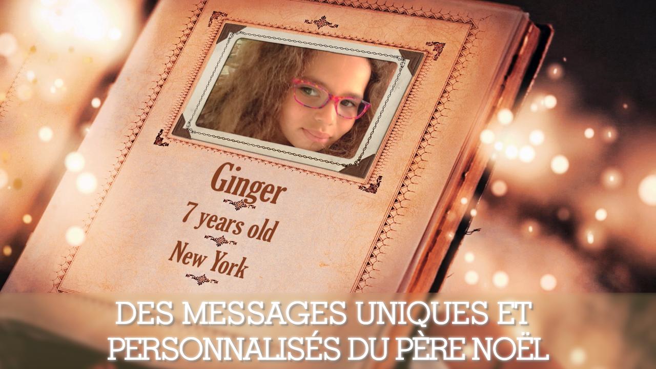message anniversaire pere noel