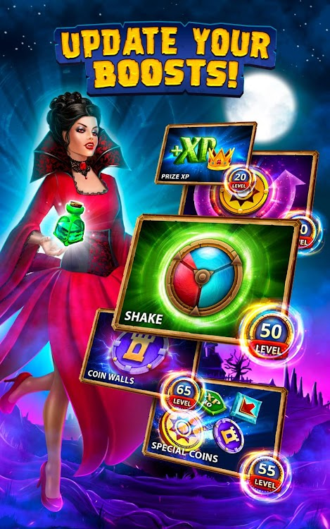 Coin Pusher Halloween Night - Haunted House Casino – (Android Games