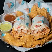 Cajun Grilled Shrimp Burrito