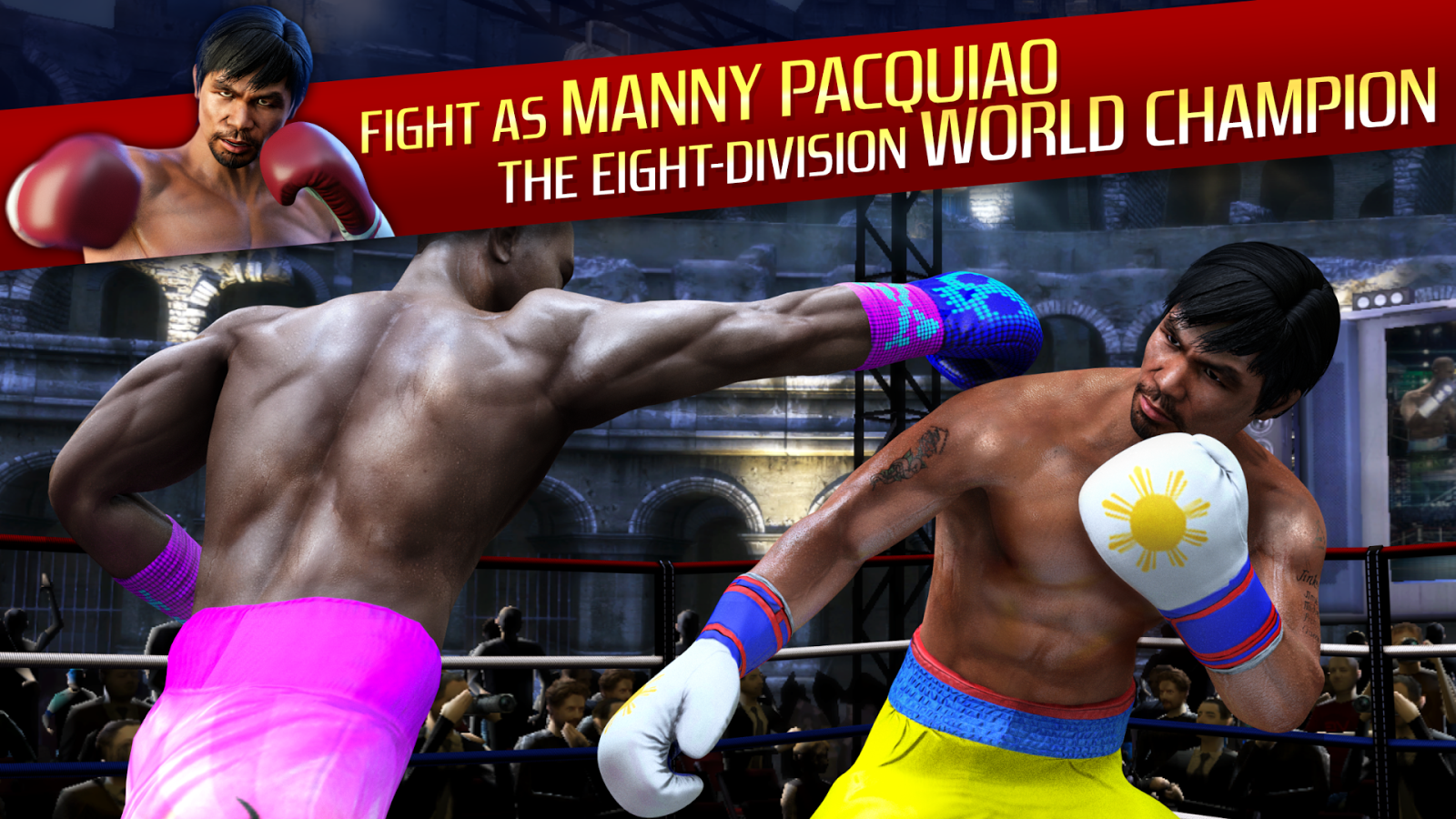 Real Boxing Manny Pacquiao- screenshot