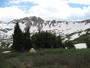 Photo: First campsite in Maroon Bells