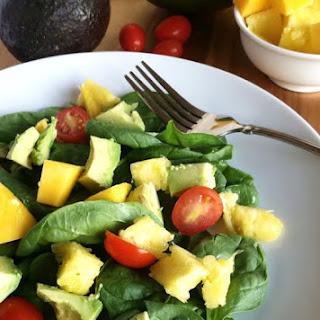 Healthy Glowing Green Salad
