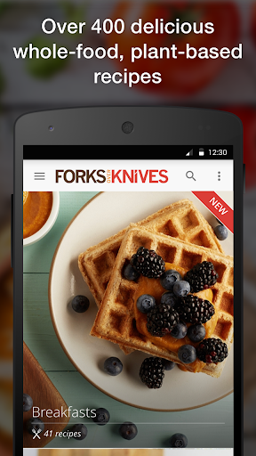 Forks Over Knives - Recipes screenshot