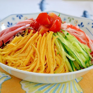 Hiyashi Chuka Noodles (Chilled Chinese Noodles)