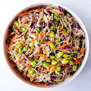Rainbow Soba Noodle Salad