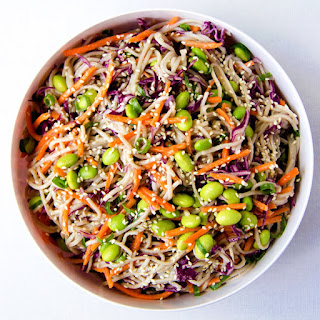 Rainbow Soba Noodle Salad.