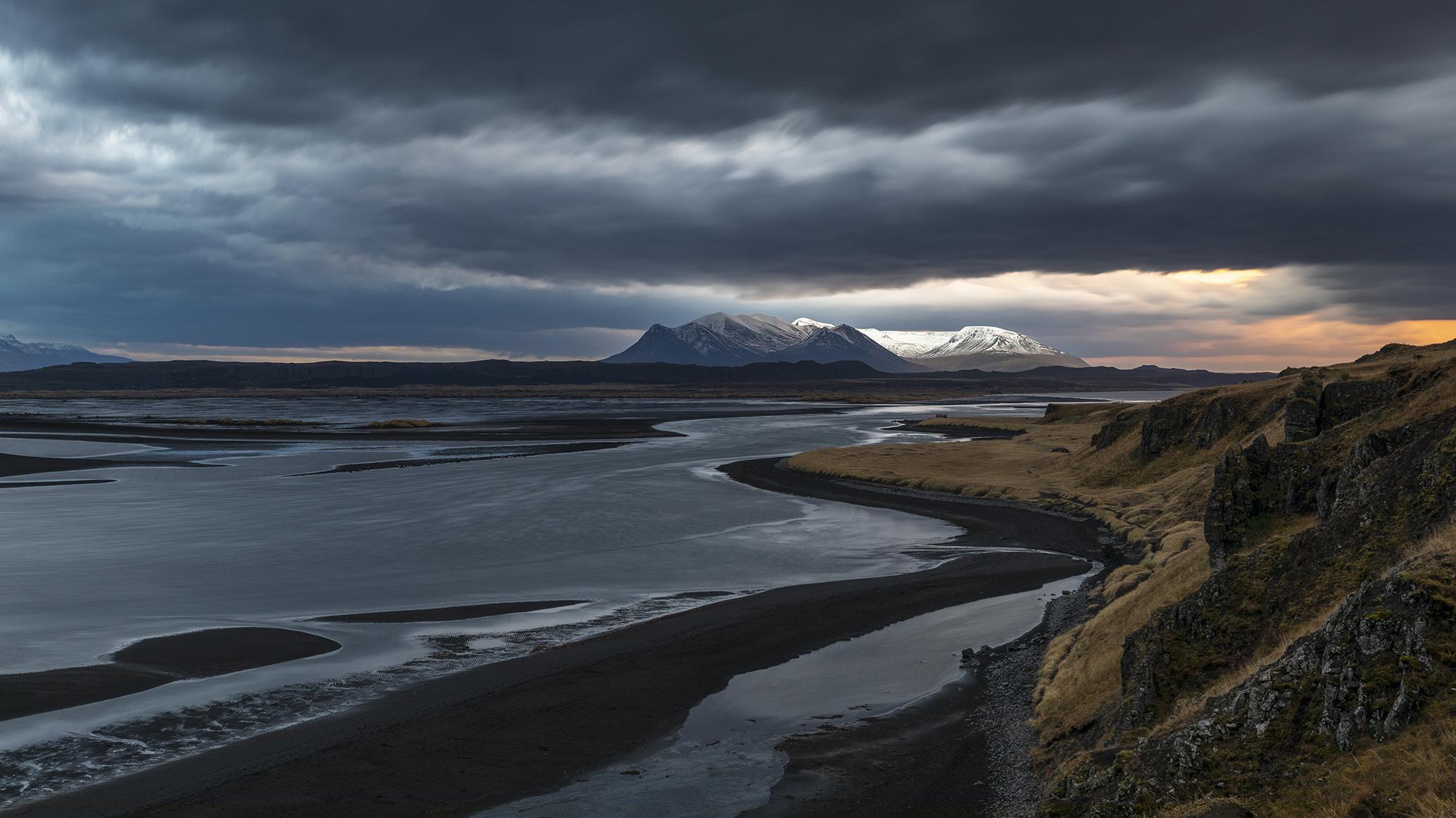 Tramonto primordiale (Iceland)