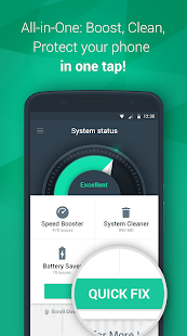 Droid Keeper 2.0 - Boost&Clean Screenshot