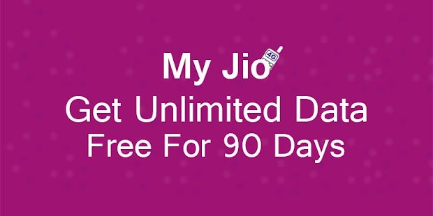 Jio Free Recharge (3 Months) New Year Special 2018 - náhled