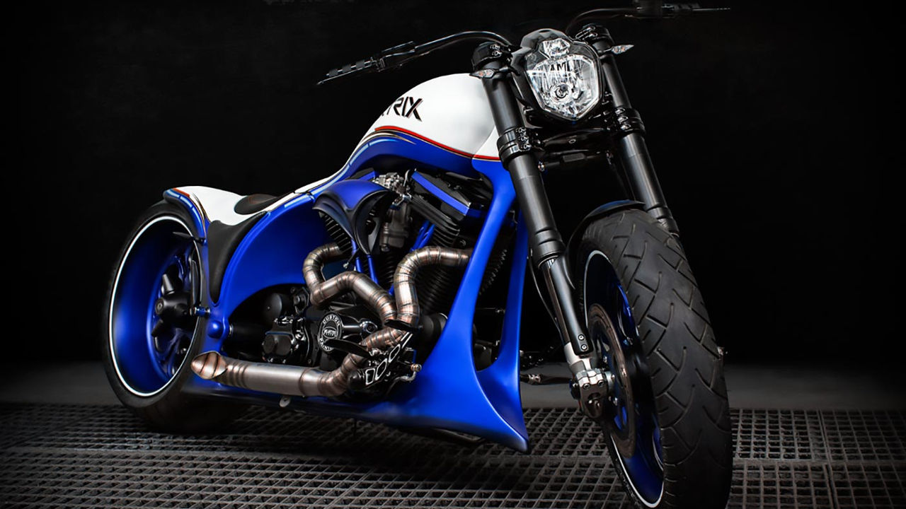 "Harley-Davidson dragster ""Crazy Wolf"" by MS Artrix"
