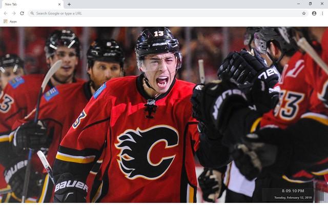 NHL Calgary Flames New Tab