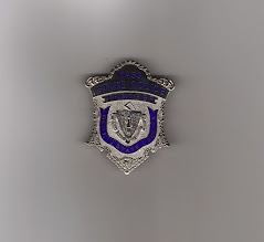 Photo: Massachusetts State Police, Badge (New, Reproduction, I will only trade badges with active or retired law enforcement officers. I would like to trade for Virginia patches)