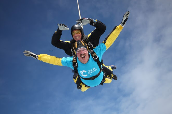 Leap of faith for Graham - in aid of charity