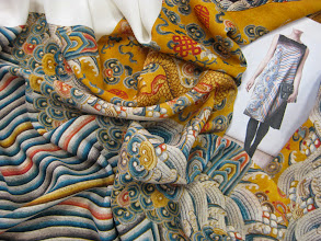 Photo: Ткань:Крепдешин натуральный шелк ш.140см.цена 4000 руб.