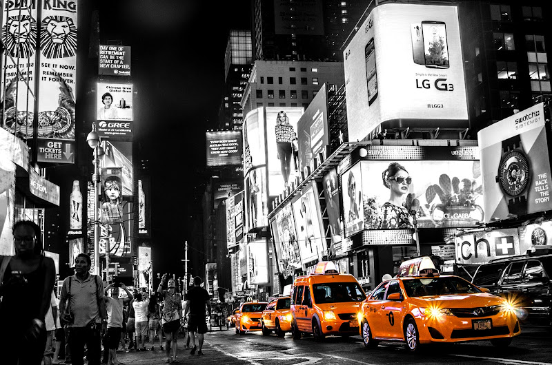 NYC Taxi di Marco Cortese