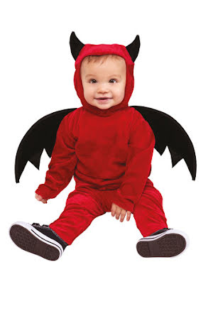 Barndräkt, Djävul med vingar