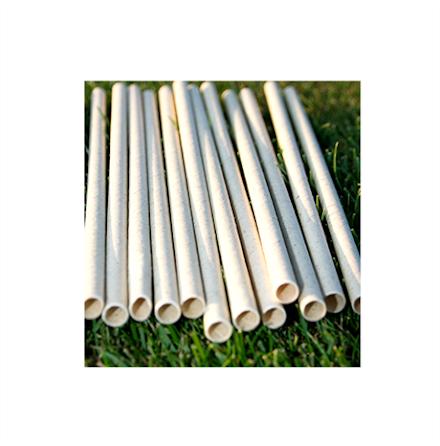 Sugrör ekologiskt av gräs och trä 50-pack
