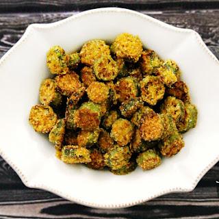 Gluten-Free Vegan Oven-Baked Okra Bites Recipe