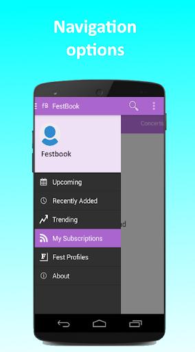 FestBook screenshot 5
