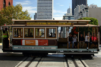 Photo: Believe it or not, we rode cable cars in San Francisco.