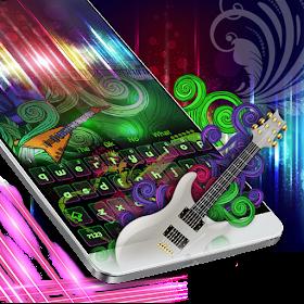 Neon Guitar Keyboard